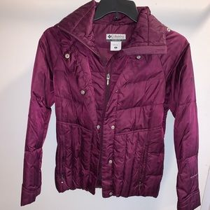 Columbia Winter Jacket purple size Small
